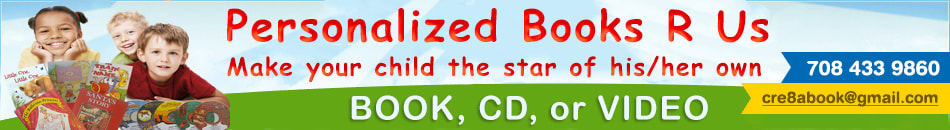 Get Personalized children's Books  CD's and Videos