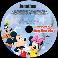 Personalized Mickey Mouse C