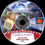 My dream book personalized photo DVD
