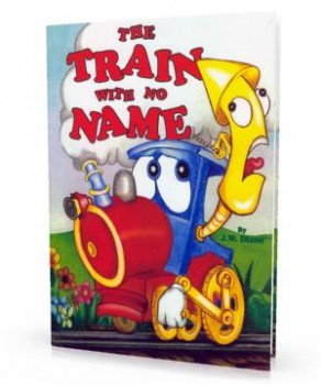 Personalized Book about trains