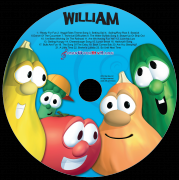 Personalized Veggie Tale CD
